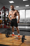 Muscular athletic bodybuilder Royalty Free Stock Photo