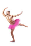 Muscular ballet Stock Images