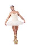 Muscular ballet performer Stock Image