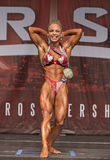 Muscular Beauty Wins Toronto Women`s Physique Contest Stock Image