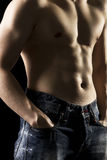 Muscular body Royalty Free Stock Photography