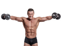 Muscular body Royalty Free Stock Images