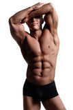 Muscular body Royalty Free Stock Image