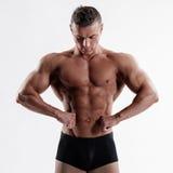 Muscular body Stock Photo