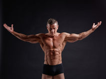 Muscular body Stock Images