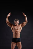 Muscular body Royalty Free Stock Photo