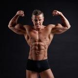 Muscular body Stock Photos