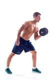 Muscular bodybuilder guy Stock Photo