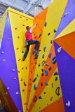 Muscular Climber Man Stock Images