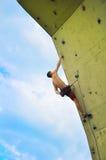 Muscular  climber Stock Image