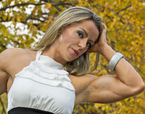 Muscular and Glamorous Stock Photos