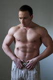Muscular guy Royalty Free Stock Photography