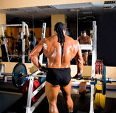 Muscular handsome bodybuilder Stock Images