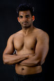 Muscular Indian Man Royalty Free Stock Images