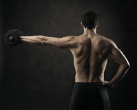 Hard workout Stock Photography