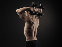 Hard workout Royalty Free Stock Photos