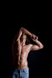 Muscular Male Body Royalty Free Stock Photography