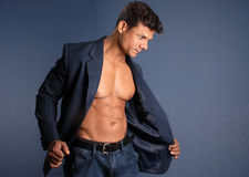 Muscular Male Stock Photography