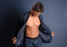 Muscular Male Stock Photo