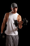 Muscular Man Stock Photography