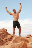 Muscular man Stock Photography