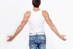 Muscular man Stock Image