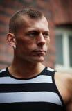 Muscular man Royalty Free Stock Image