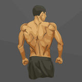 Muscular man body Stock Photo