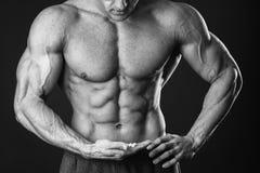 Free Muscular Man Bodybuilder Royalty Free Stock Images - 53717369