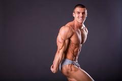 Muscular man bodybuilder Royalty Free Stock Photography