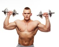 Muscular man Royalty Free Stock Photo