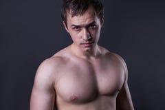 Muscular man Royalty Free Stock Photos