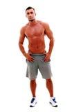 Muscular man standing Stock Image