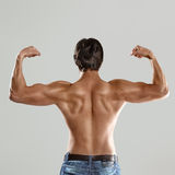 Muscular man torso Stock Photography