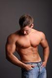 Muscular model Royalty Free Stock Photos