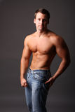 Muscular model Stock Photos