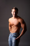 Muscular model Stock Images