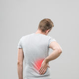 Muscular pain Royalty Free Stock Images