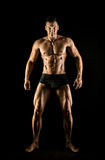 Muscular sexy guy Stock Photos