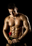 Muscular sexy guy Royalty Free Stock Photography