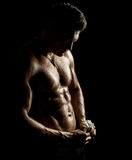 Muscular sexy guy Royalty Free Stock Images