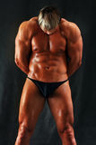 Muscular torso of a man Royalty Free Stock Photo
