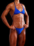 Muscular woman Royalty Free Stock Photos