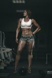 Muscular woman Royalty Free Stock Photos
