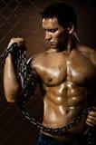 Muscular worker Stock Photos