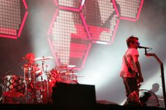 MUSE IN CONCERT Stock Photography