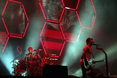 MUSE IN CONCERT Royalty Free Stock Photo