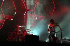 MUSE IN CONCERT Royalty Free Stock Image