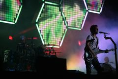 MUSE IN CONCERT Stock Images