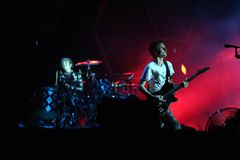 MUSE IN CONCERT Royalty Free Stock Photos